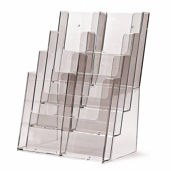 Portadepliant da Banco con 8 tasche DL o 4 tasche A4