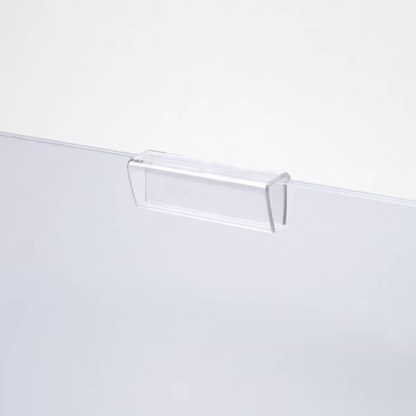Clamp per facile accesso alle tasche in acrylglass