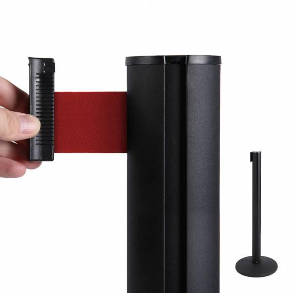 Colonnina segnapercorso con nastro Rosso di 2 metri