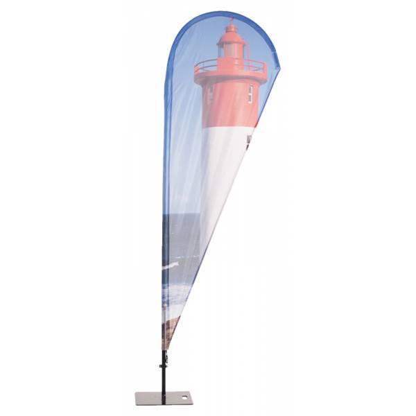 Bandiera pubblicitaria Goccia - da esterno
