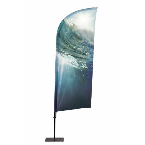 Bandiera pubblicitaria Vela per esterno
