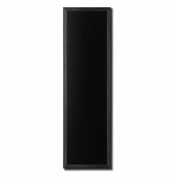 Lavagna nera da Parete 56x170 con cornice Nera