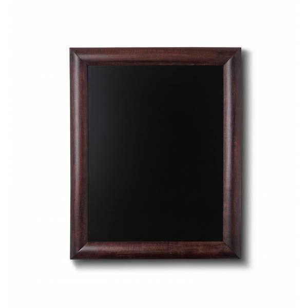 Lavagne nera da Parete 30x40 con cornice Marrone Scuro