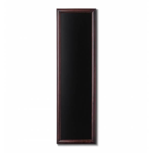 Lavagne nera da Parete 40x120 con cornice Marrone Scuro
