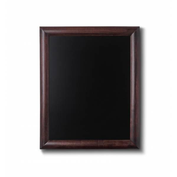Lavagne nera da Parete 40x50 con cornice Marrone Scuro