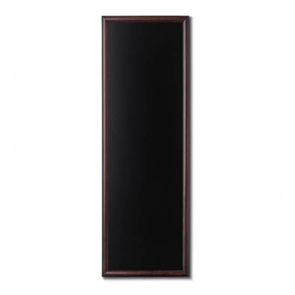 Lavagne nera da Parete 56x150 con cornice Marrone Scuro