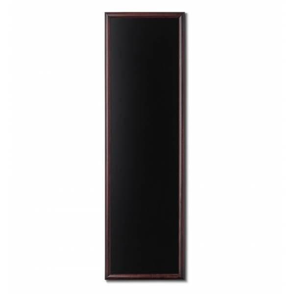Lavagne nera da Parete 56x170 con cornice Marrone Scuro