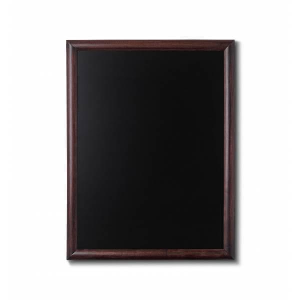 Lavagne nera da Parete 60x80 con cornice Marrone Scuro