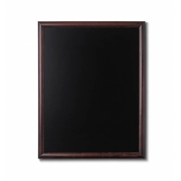 Lavagne nera da Parete 70x90 con cornice Marrone Scuro