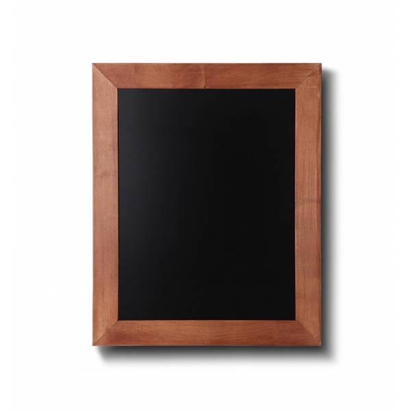 Lavagna nera da Parete 30x40 con cornice Marrone Chiaro