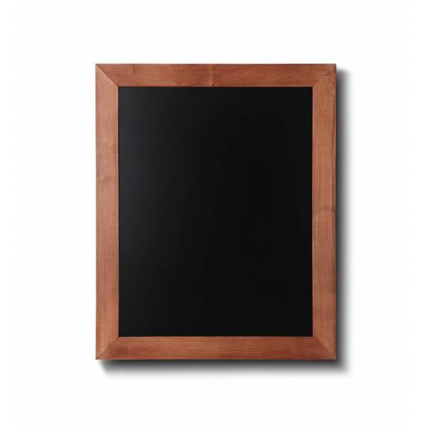 Lavagna nera da Parete 40x50 con cornice Marrone Chiaro