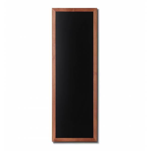 Lavagna nera da Parete 56x150 con cornice Marrone Chiaro
