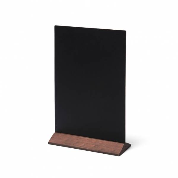 Lavagnetta da tavolo Economy 21x29 con base marrone scuro