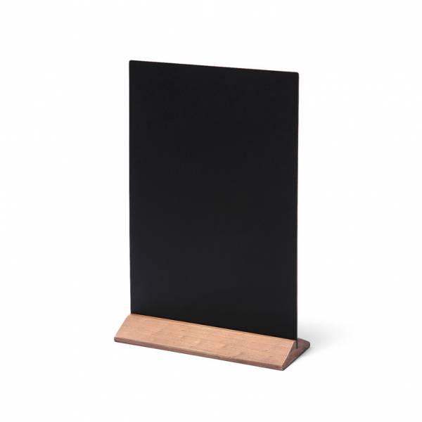 Lavagnetta da tavolo Economy 21x29 con base marrone chiaro