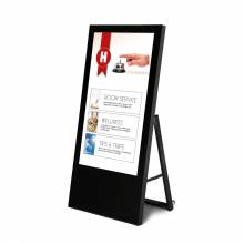 Cavalletto digitale economy con monitor Samsung 43' nero