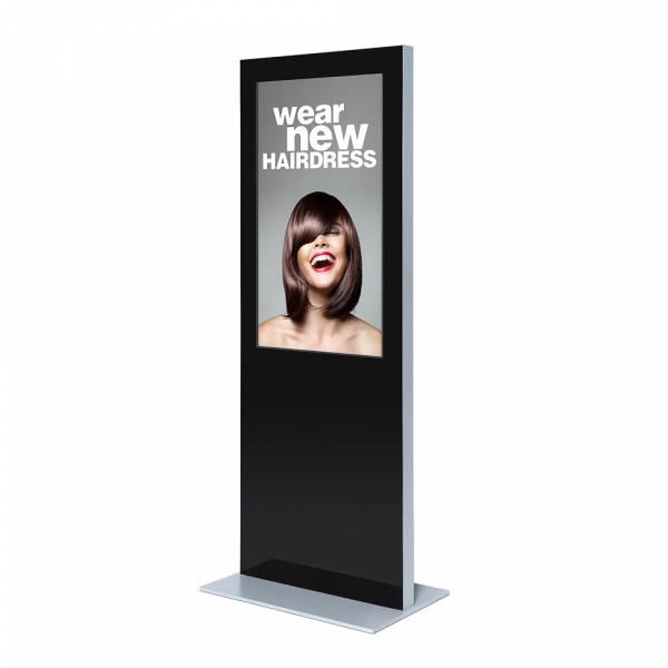 Totem digitale Slim con monitor Samsung