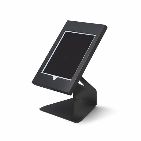 """Porta iPad da tavolo da 10"""" angolare - Nero"""