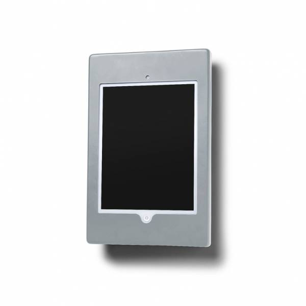 Porta tablet 10' da parete piatto Slimcase - Silver