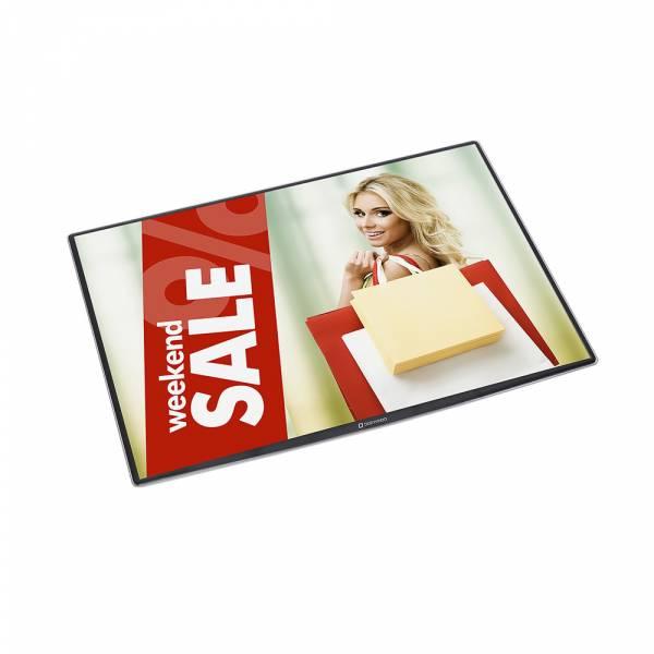 Porta poster da banco formato A3 DeskWindo®