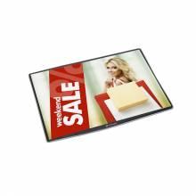 Porta poster da banco formato A4 DeskWindo®