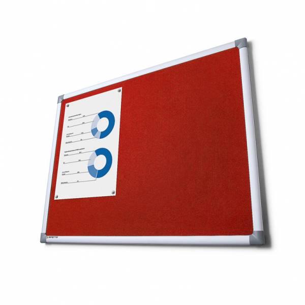 Lavagna in Tessuto Rosso 100x150 SCRITTO®