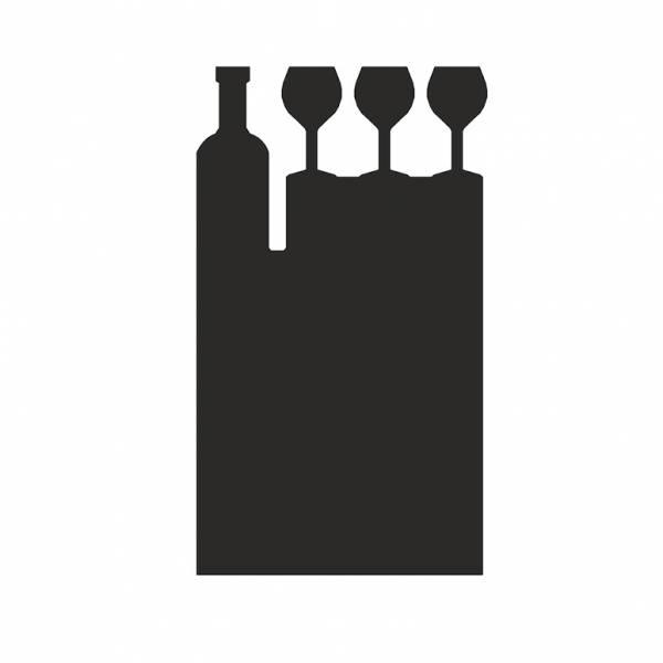 Lavagnetta da tavolo Economy - Vino