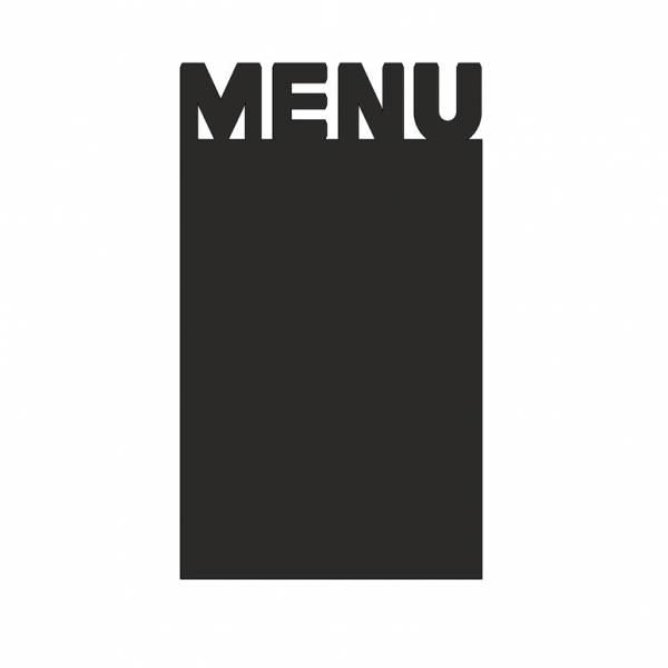 Lavagnetta da tavolo Economy - Menu