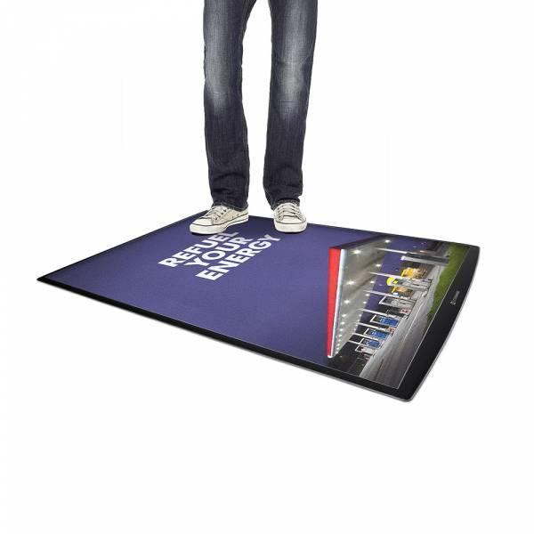 Porta poster da pavimento FloorWindo®