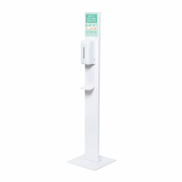Colonnina igienizzante mani con dispenser automatico