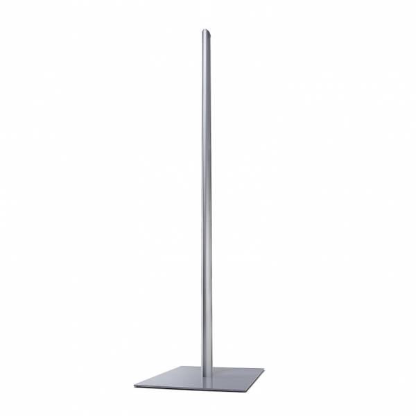 Porta poster Info Pole - base, montante e tappo superiore