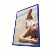 Cornice a scatto 50x70 25mm e angoli vivi, colore blu