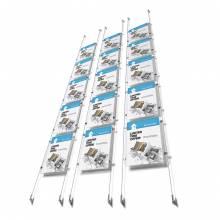 Espositore a Cavetto kit Appendo Display A4 verticale