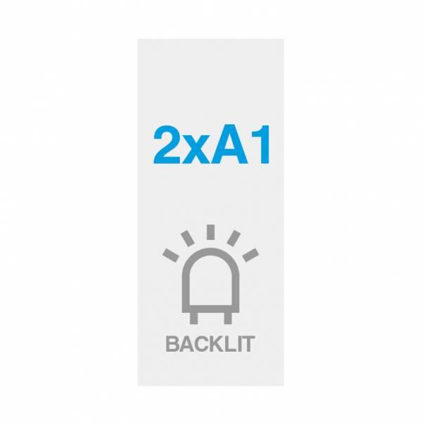 Pellicola Backlit Premium con superficie satinata 200g/m2, 2xA1
