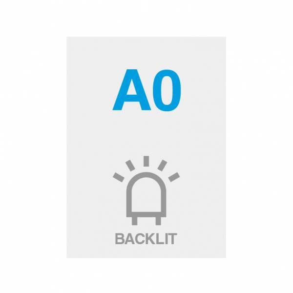 Pellicola Backlit Premium con superficie satinata 200g/m2, A0