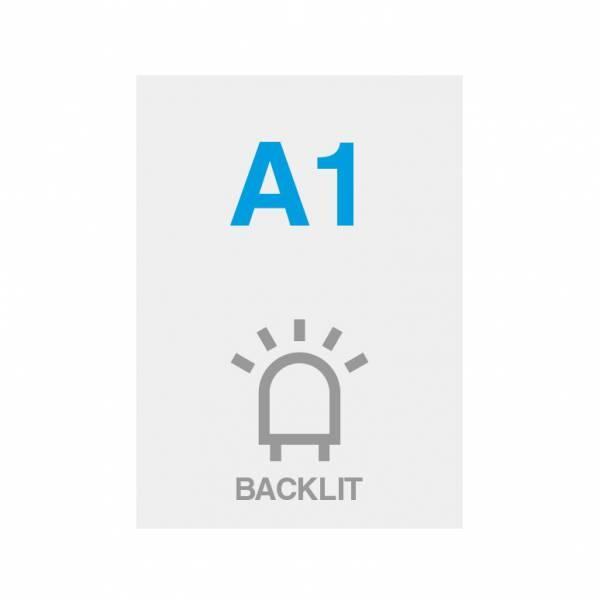 Pellicola Backlit Premium con superficie satinata 200g/m2, A1