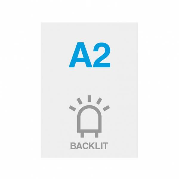 Pellicola Backlit Premium con superficie satinata 200g/m2, A2