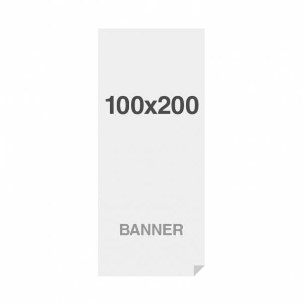 Banner No Curl in PP Premium 220g/m2, superficie opaca, 100x200