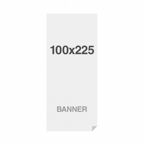 Banner No Curl in PP Premium 220g/m2, superficie opaca, 85x200