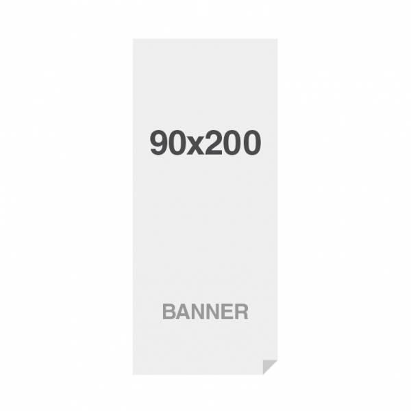Banner No Curl in PP Premium 220g/m2, superficie opaca, 90x200