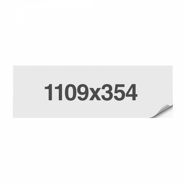 Adesivo calpestabile di sicurezza, 1109x314mm