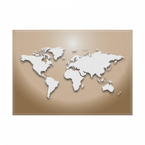 Placemat World Map