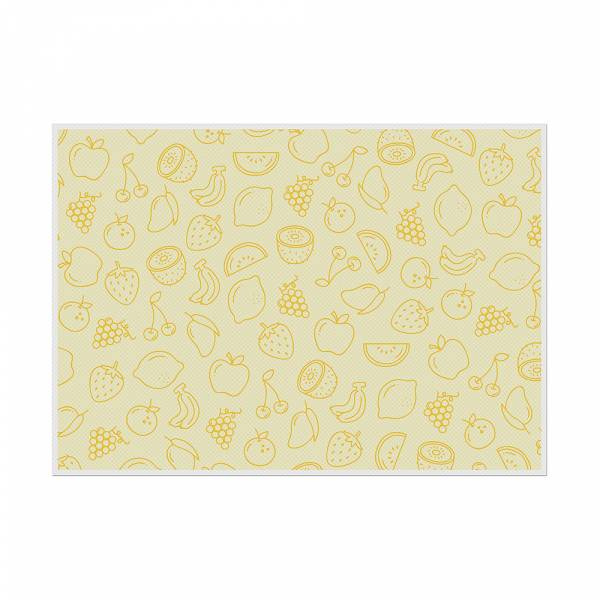 Placemat Fruits Abstract