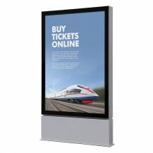 Totem pubblicitario da esterno LED (120x180)