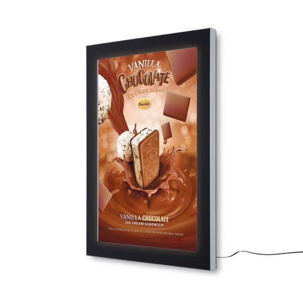Bacheca da esterno per poster certificata IP56 70x100 a LED