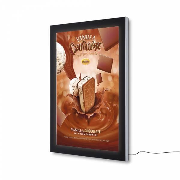 Bacheca da esterno per poster certificata IP56 A0 a LED