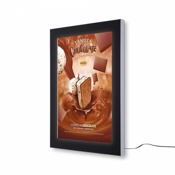 Bacheca da esterno per poster certificata IP56 A1 a LED