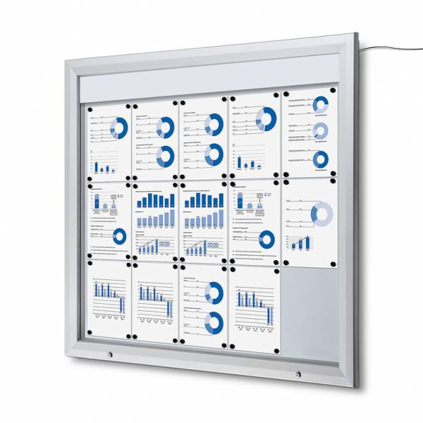 Bacheca da esterno a LED per Avvisi