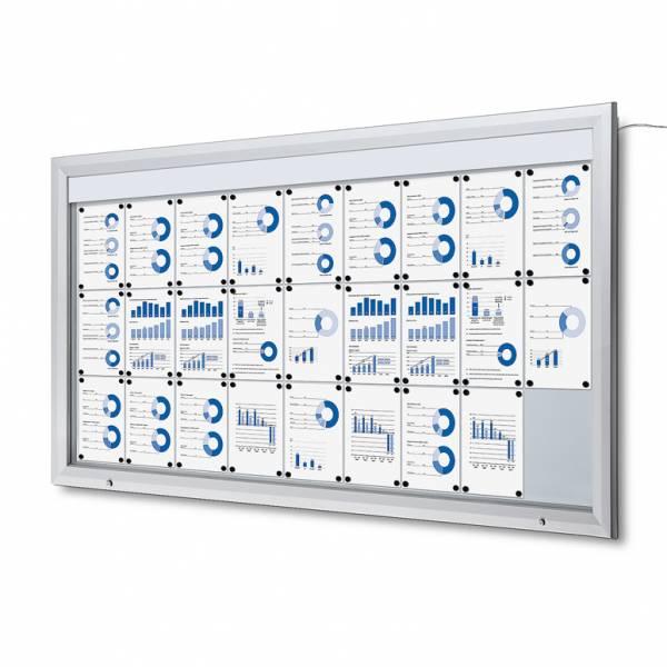 Bacheca da esterno a LED formato 27xA4