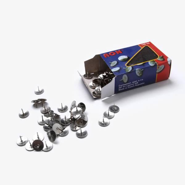 Puntine metalliche Silver per lavagne SCRITTO®