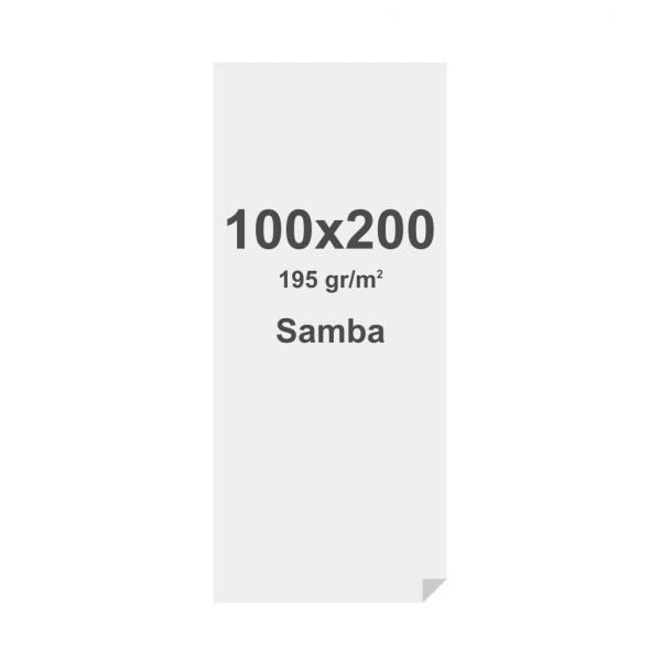 Fabric Frame Graphic Samba (SEG) 195g/m2 Sublimation Print 100 x 200 cm